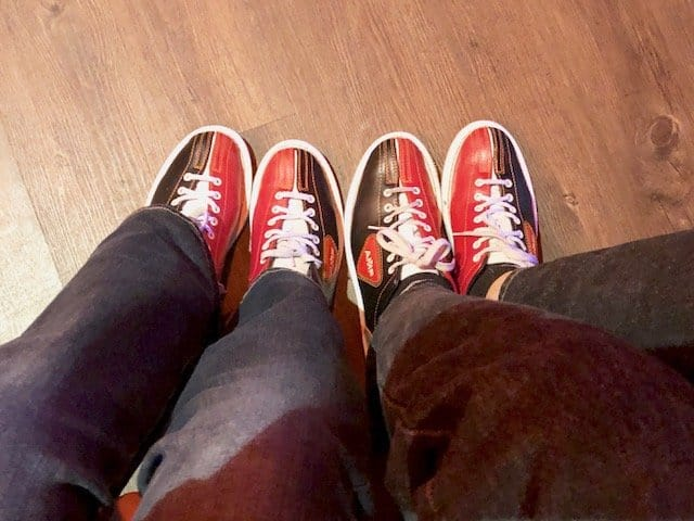 bowlero bowling shoes