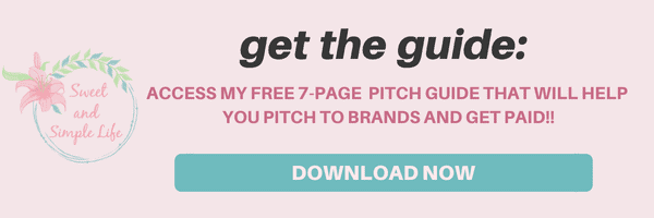 Free pitch guide to help you land your next sponsored gig