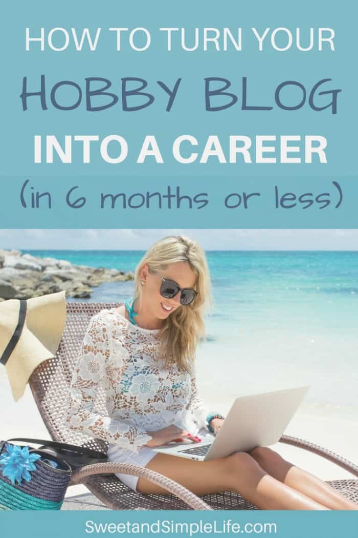 How to turn your hobby blog into a real job