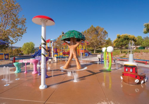 Eagle Soar Splash Pad