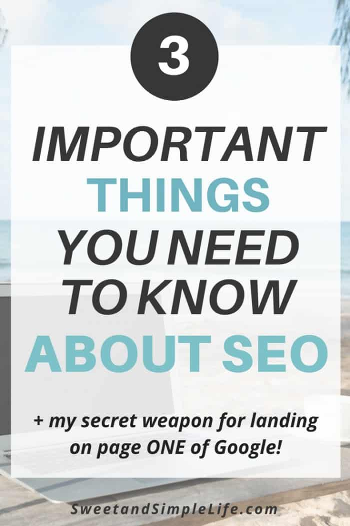 Here are three important things you need to know about SEO | Learn to grow your audience through search engine optimization