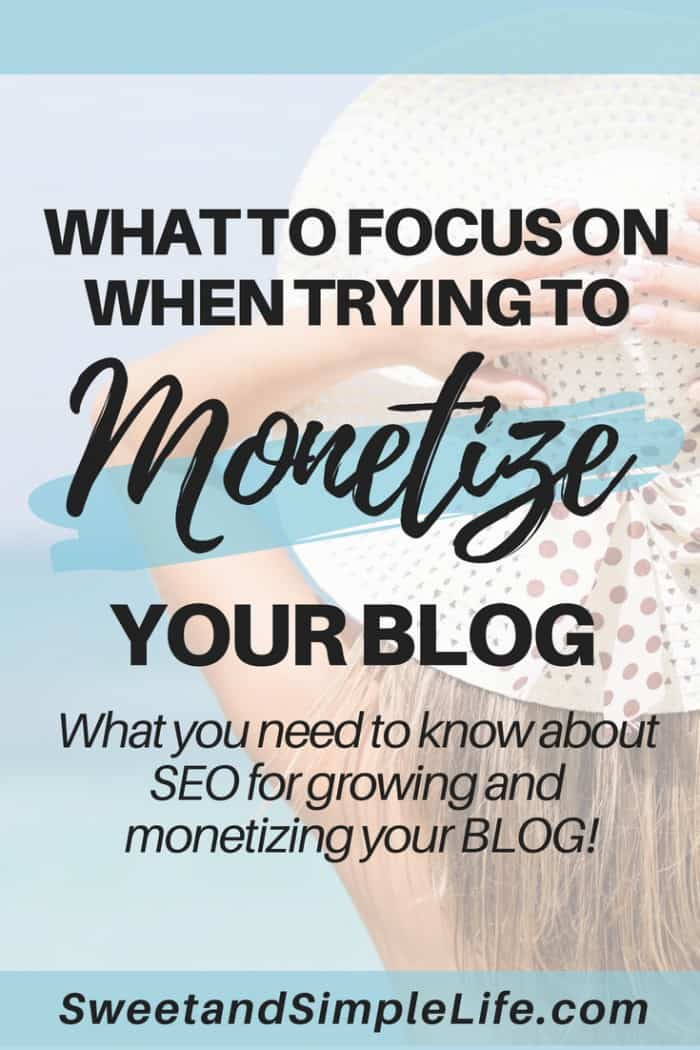 How to use SEO to monetize your blog