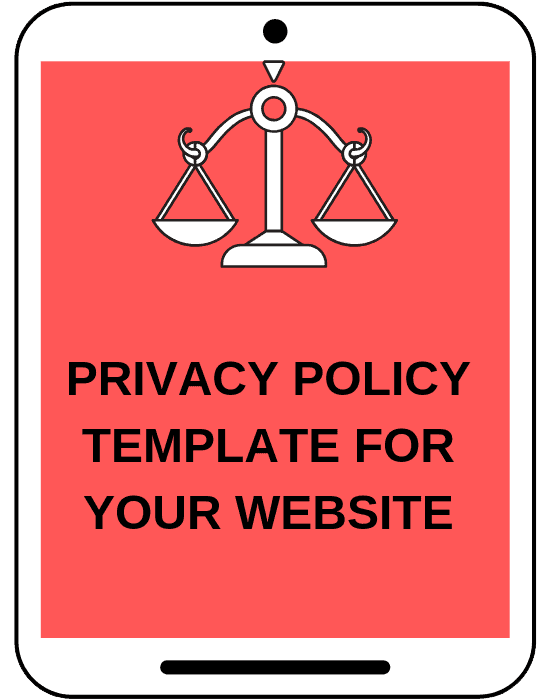 Privacy Policy for Bloggers