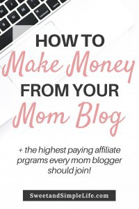 How to Make Money from your Mom Blog | This article covers everything you need to know about making money from your mom blog, including affiliate marketing, sponsored work, and creating your own products to sell.