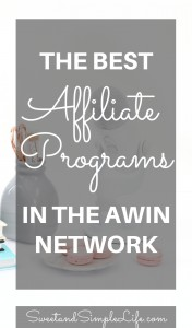 Why Every Blogger Needs to Join the AWIN affiliate network