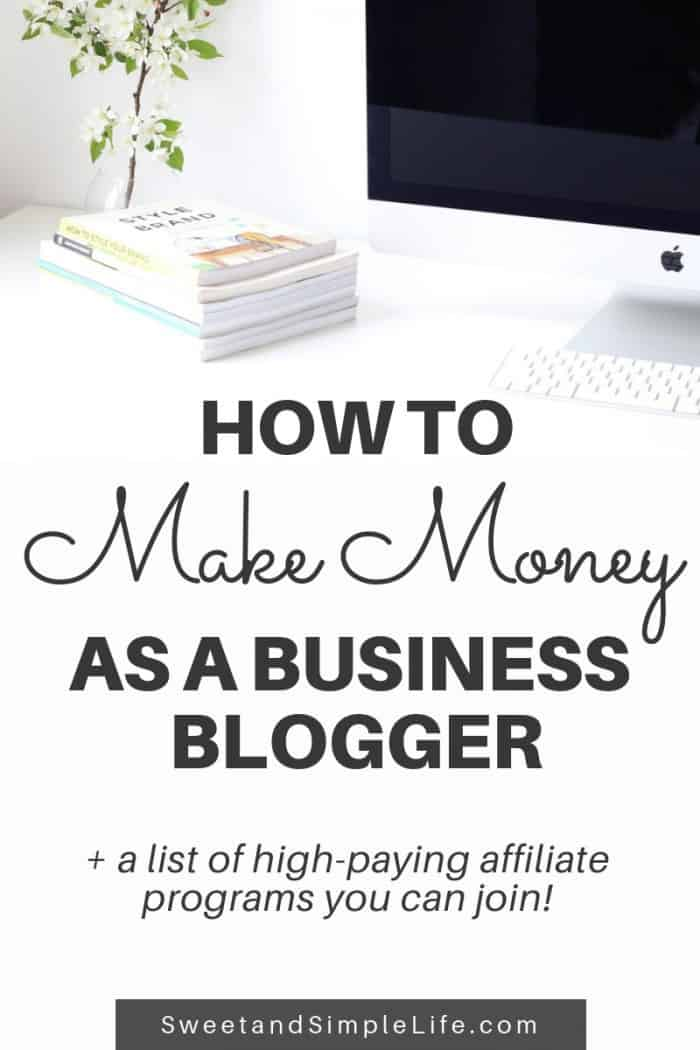 How to Make Money as a Business Blogger