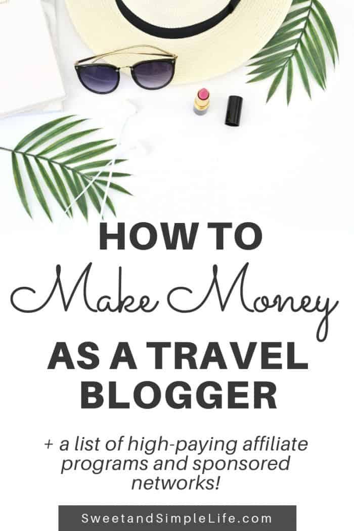 Make money as a travel blogger